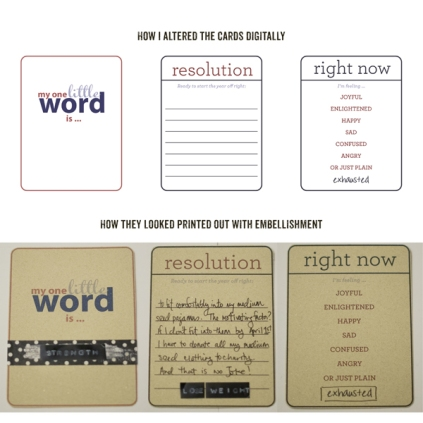 Contexual Journal Cards