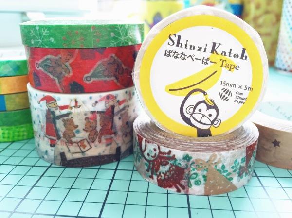My Shinzi Katoh Washi Tape by Melanie Ritchie