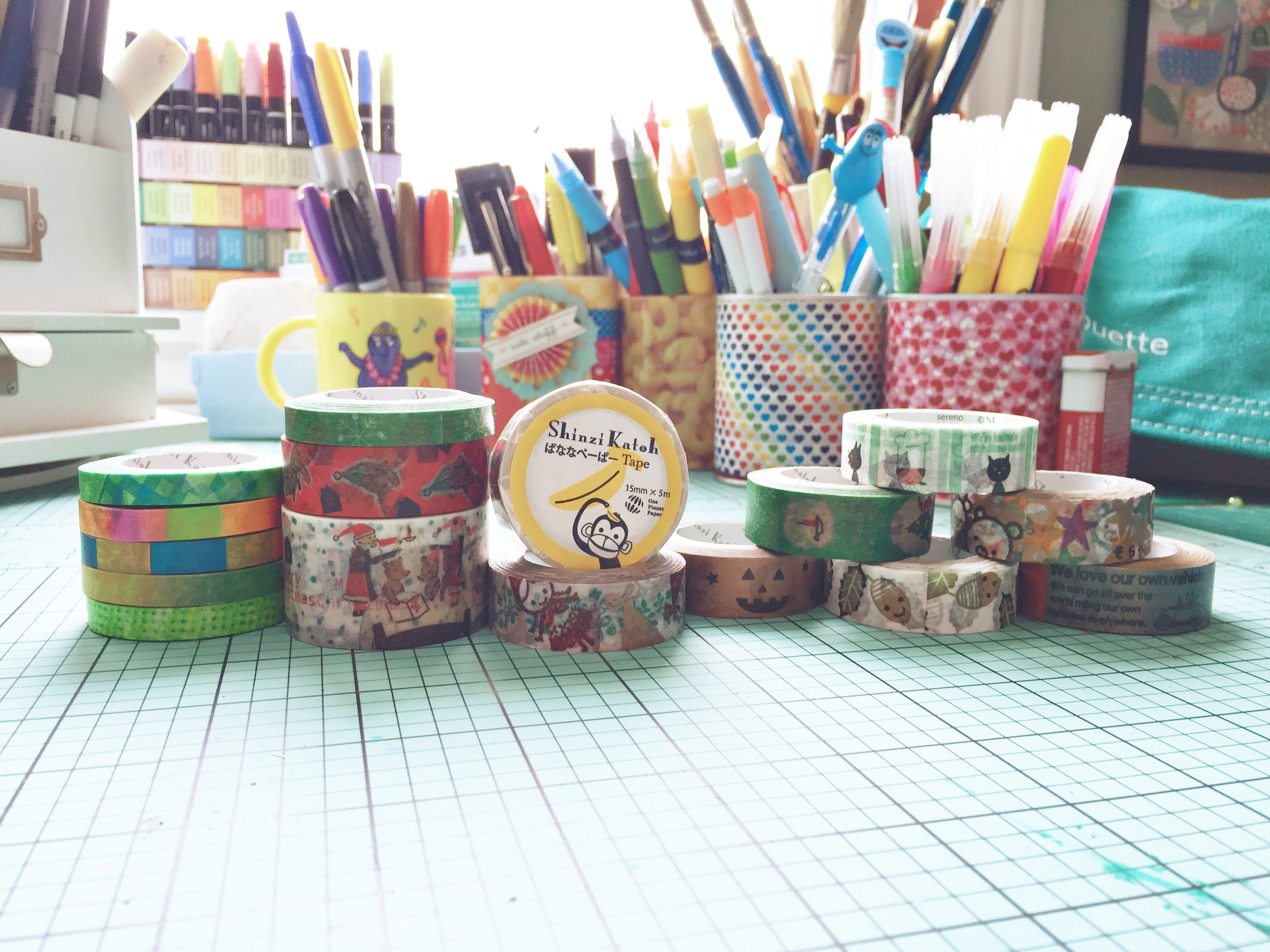 My Shinzi Katoh Washi Tape by Melanie Ritchie