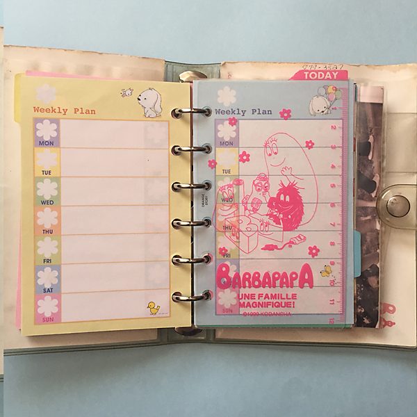 Barbapapa Planner by Melanie Ritchie