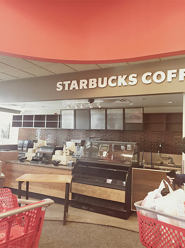 Goodbye Target Starbucks by Melanie Ritchie