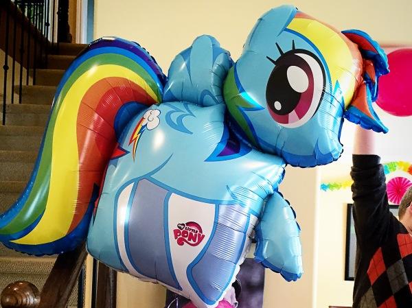 My Little Pony Balloon | Melanie Ritchie
