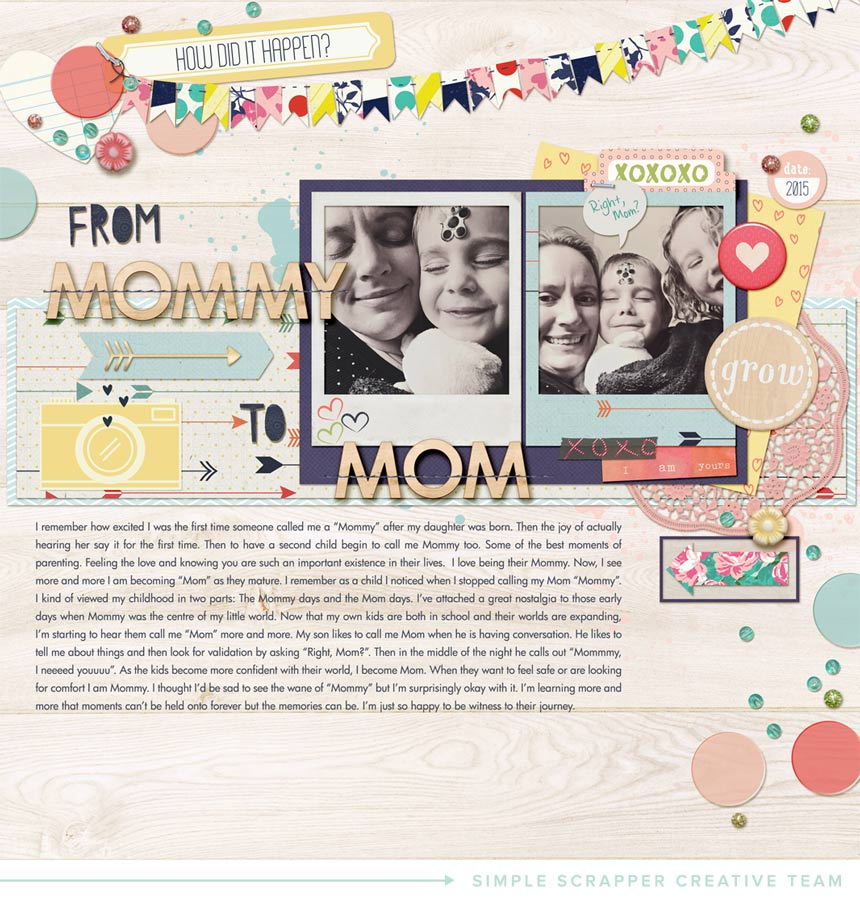 From Mommy to Mom | Melanie Ritchie