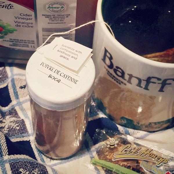 Fire breathing gargle tea