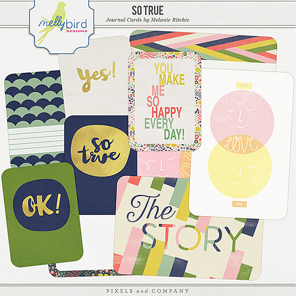 So True | Journal Cards by Melanie Ritchie