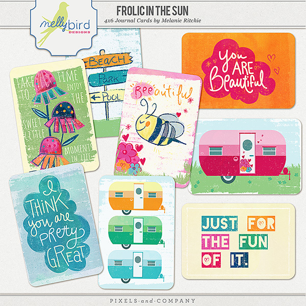 Frolic Journal Cards | Melanie Ritchie