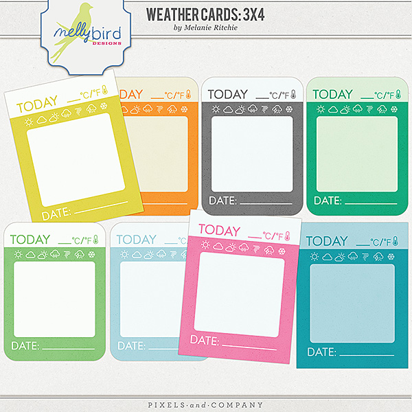 Weather Cards | Melanie Ritchie