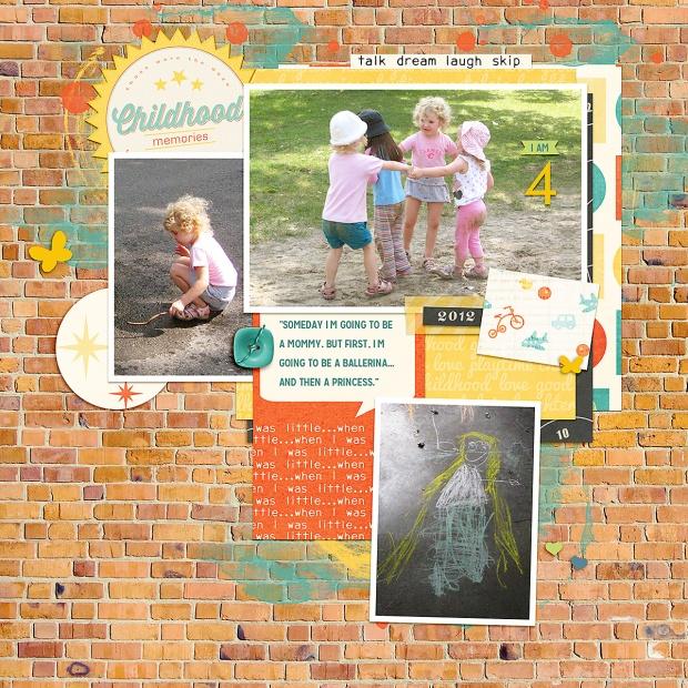 childhood | Melanie Ritchie